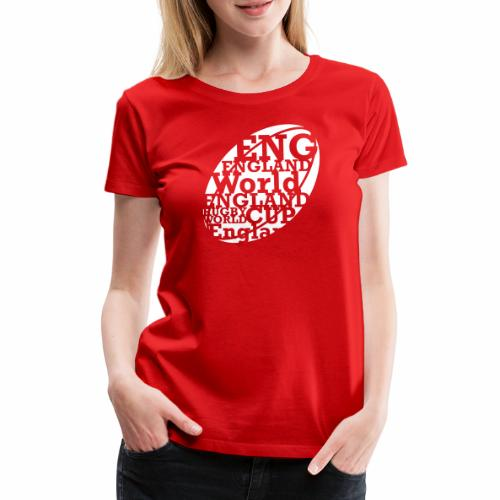 England Rugby World Cup - Women's Premium T-Shirt