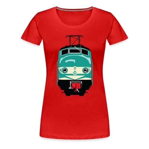 Hondekop 386 3 kleuren - Vrouwen Premium T-shirt