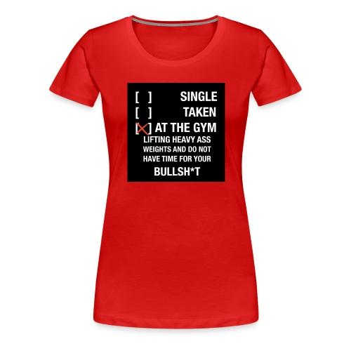 Sodrop single - Vrouwen Premium T-shirt