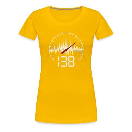138 (White) - Premium-T-shirt dam