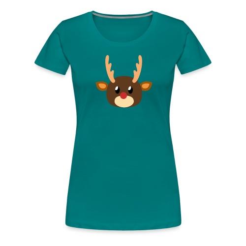 Rentier »Rudy« - Women's Premium T-Shirt