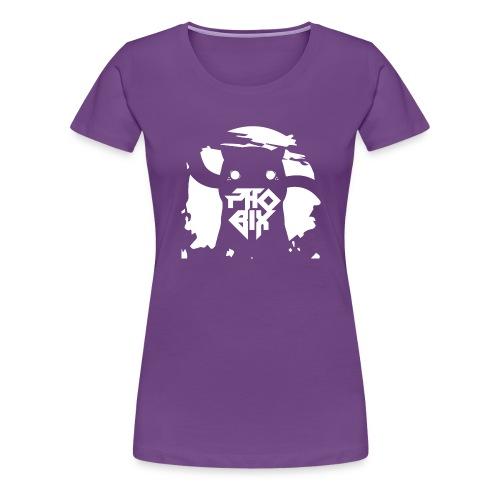 white 01big png - Frauen Premium T-Shirt