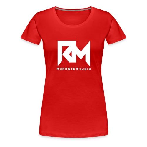 Original RM-Logo White - Frauen Premium T-Shirt
