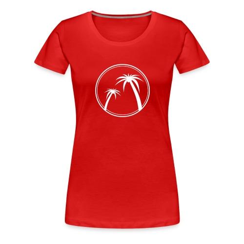 Palm Slabbetje - Vrouwen Premium T-shirt