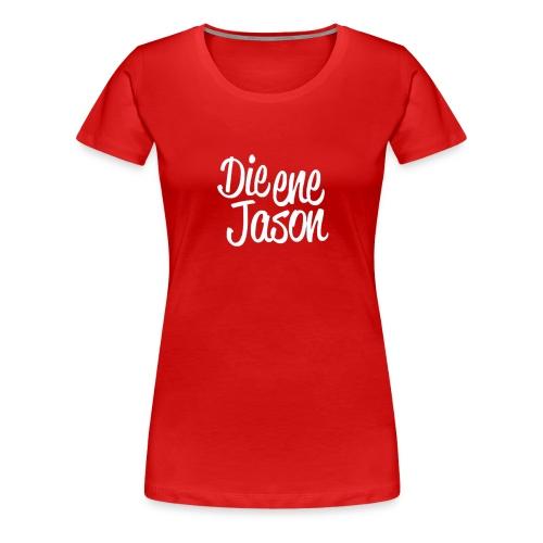 DieEneJason Vrouwen sweatshirt - Vrouwen Premium T-shirt