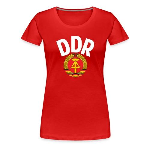 DDR - German Democratic Republic - Est Germany - Frauen Premium T-Shirt