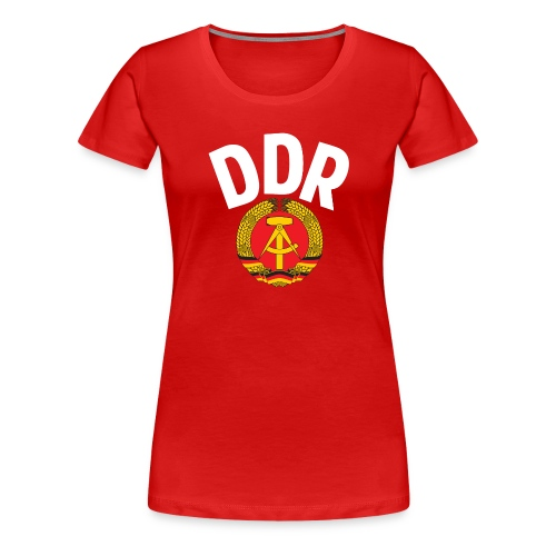 DDR - German Democratic Republic - Est Germany - Women's Premium T-Shirt