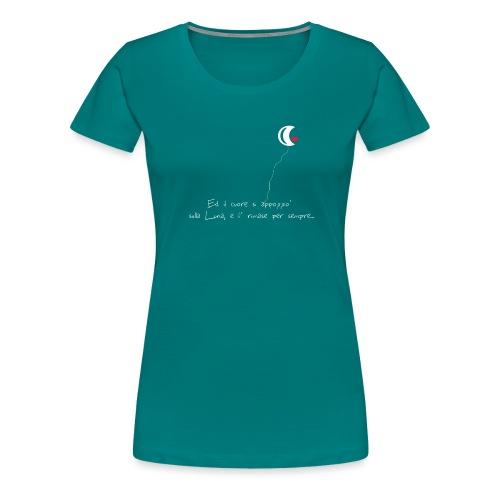 CUORE-E-LUNA - Maglietta Premium da donna