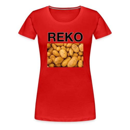 REKOpaita perunat - Naisten premium t-paita