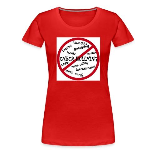 anti-bullying armour - Women's Premium T-Shirt