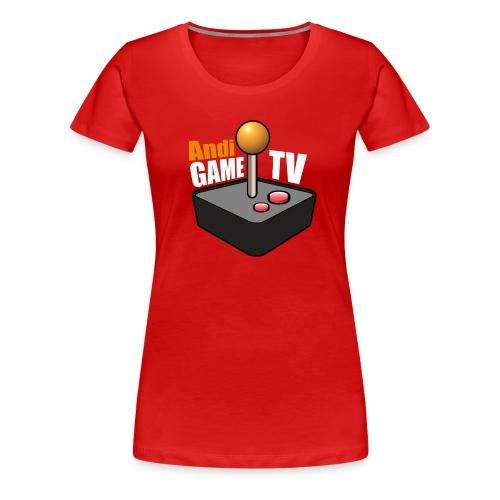 Andi GAME TV (White) - Frauen Premium T-Shirt