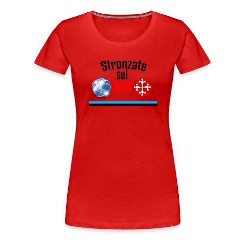 Stronzate sul web (Logo) - Maglietta Premium da donna