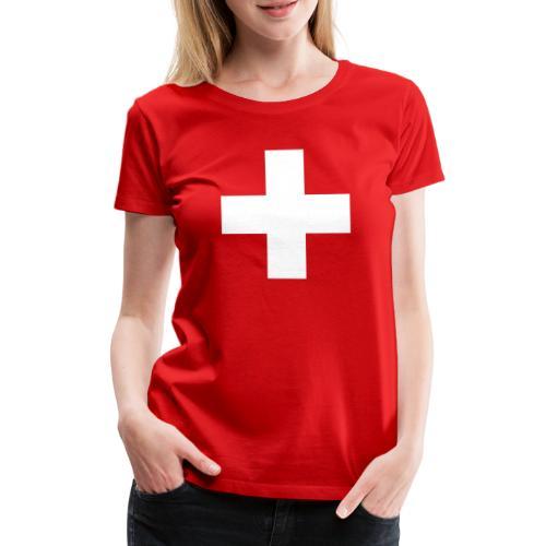 Kreuz - Frauen Premium T-Shirt