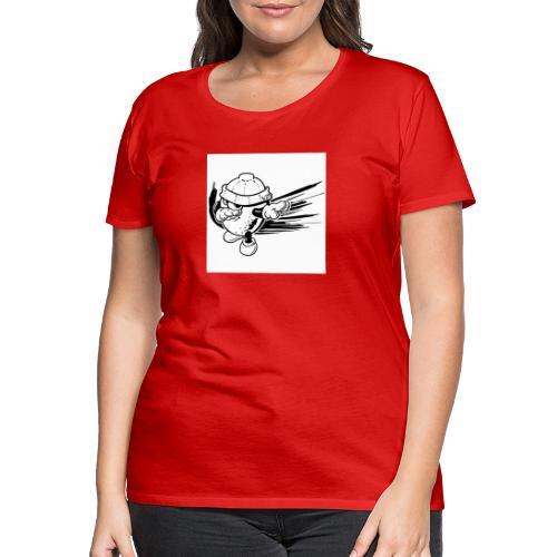 citron dab noir et blanc - T-shirt Premium Femme