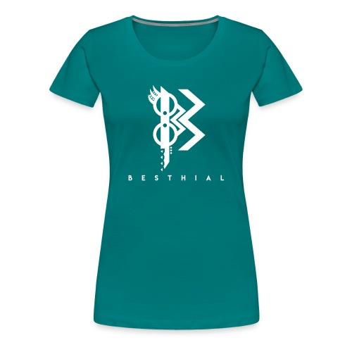 White V - T-shirt Premium Femme