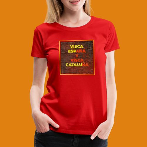 SPAIN AND CATALONIA - Women's Premium T-Shirt
