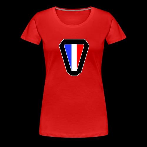 V logo - T-shirt Premium Femme