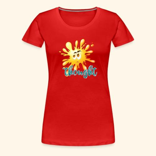 pensiero - Maglietta Premium da donna