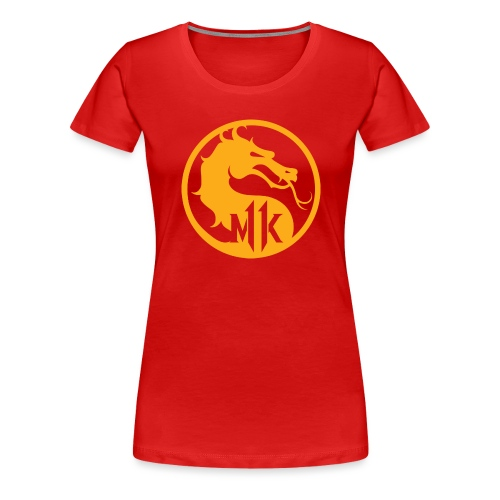 Mortal Kombat - Videojuego - Camiseta premium mujer