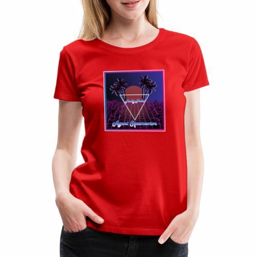 Agent Squarewave - Funky Noobs - Women's Premium T-Shirt