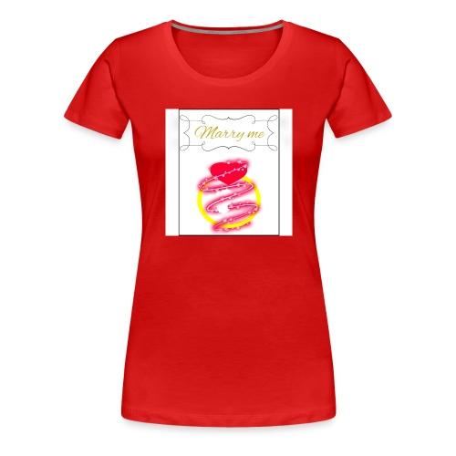 Marry me - Maglietta Premium da donna