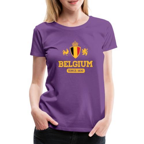 depuis 1830 Belgique - Belgium - Belgie - T-shirt Premium Femme