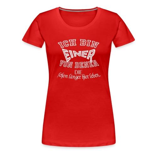 Einer von_02 - Frauen Premium T-Shirt