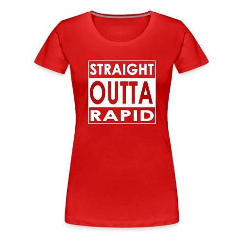 Outta vui rapid - Frauen Premium T-Shirt
