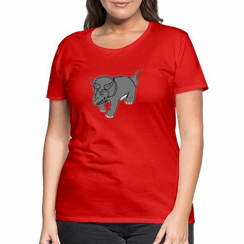 Triceratops - T-shirt Premium Femme