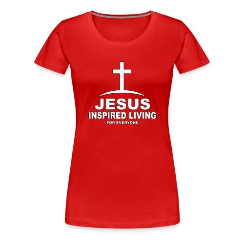 Jesus Inspired Living - Premium-T-shirt dam