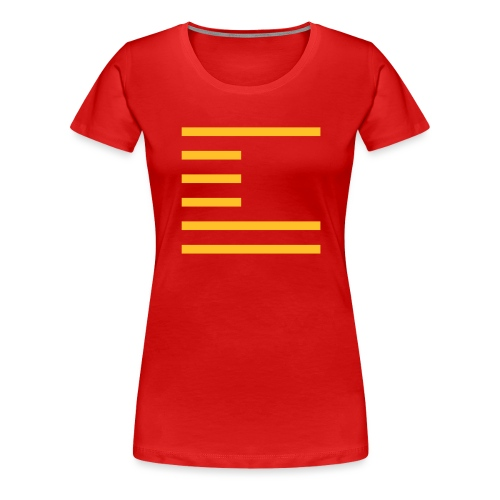 STRIPES_6A - Women's Premium T-Shirt