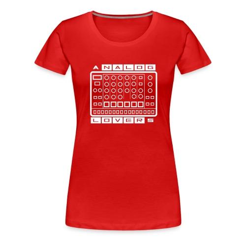 Analog Lovers - Maglietta Premium da donna