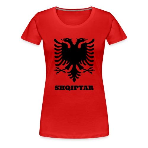 Shqiptar / Albanische Flagge / Albanien / Albaner - Frauen Premium T-Shirt