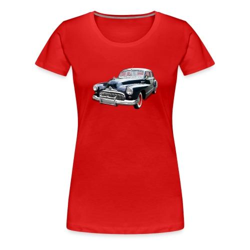 Classic Car. Buick zwart. - Vrouwen Premium T-shirt