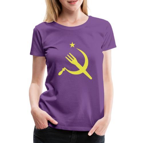 Fourchette en sikkel - USSR - belgië - belgique - T-shirt Premium Femme