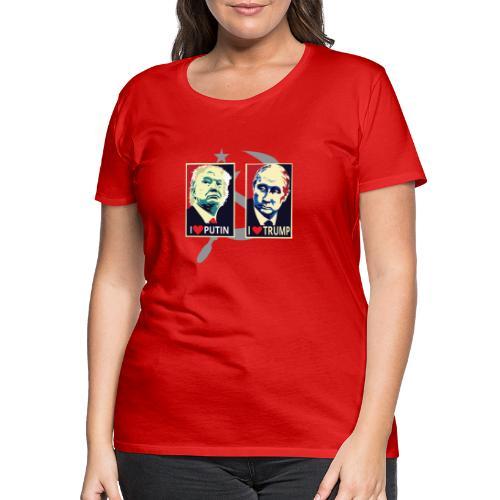 Trump Putin - Vrouwen Premium T-shirt