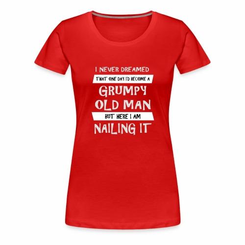 Grumpy 2 - Dame premium T-shirt