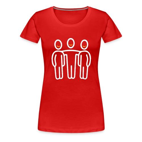 interim.team teamwork long sleeve t-shirt - Women's Premium T-Shirt