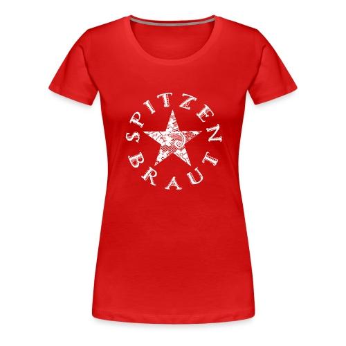 Spitzenbraut Star / white - Frauen Premium T-Shirt