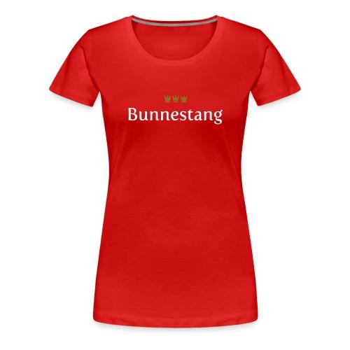 Bunnestang (Köln/Kölsch/Karneval) - Frauen Premium T-Shirt