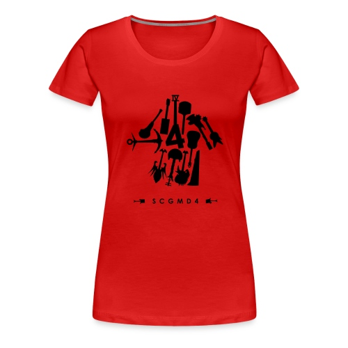 Guitar Arrow - Women's Premium T-Shirt
