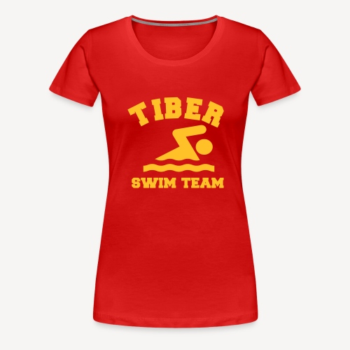 TIBER SWIM TEAM - Women's Premium T-Shirt