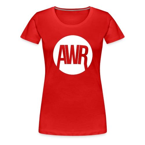 ArmooWasRight Logo - Vrouwen Premium T-shirt