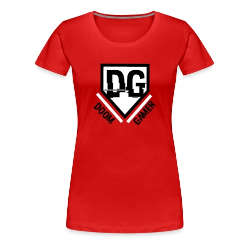 Doomgamer rugzak - Vrouwen Premium T-shirt