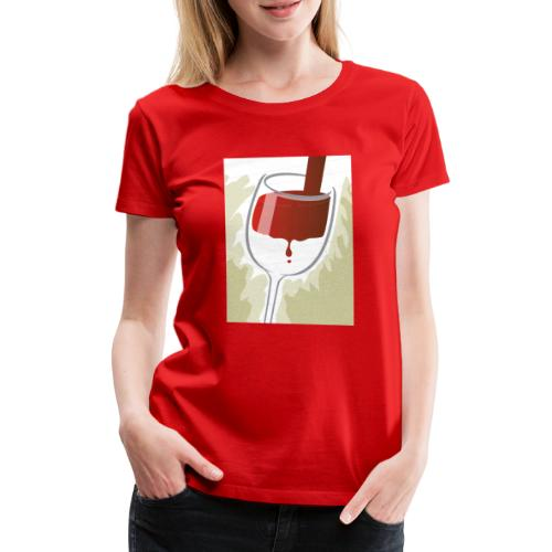 Glas Halfvol - Vrouwen Premium T-shirt