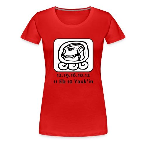Maya kalender 5123 jaar - Vrouwen Premium T-shirt