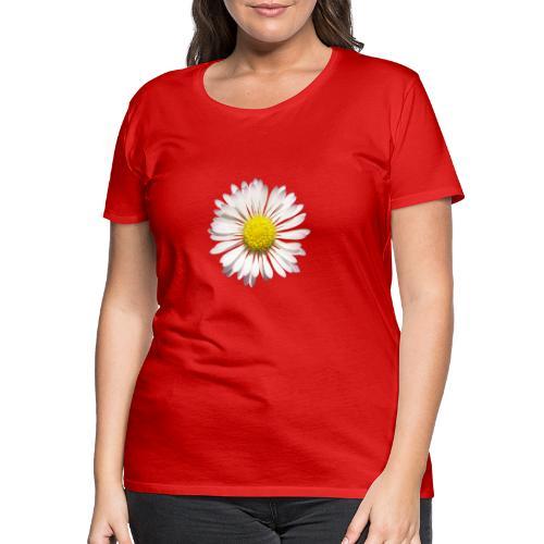 TIAN GREEN Garten - Gänse Blümchen - Frauen Premium T-Shirt