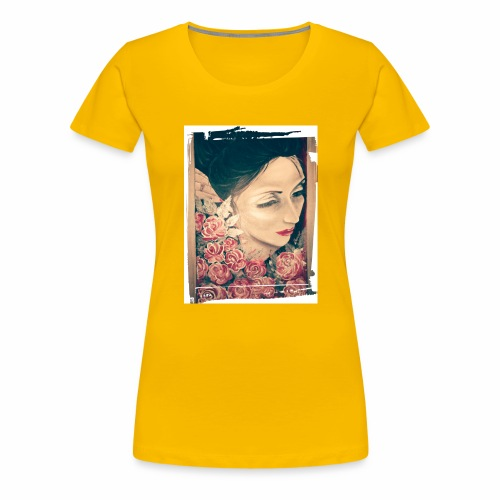 Lady Rose, - Maglietta Premium da donna