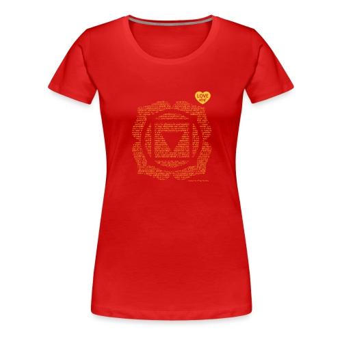 Base Chakra vasishtha - Women's Premium T-Shirt