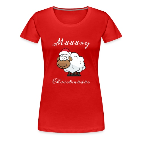 Määäry Christmäääs - Frauen Premium T-Shirt